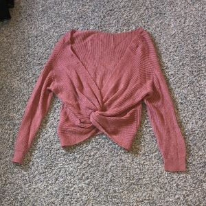 Sweaters - Knot tie sweater